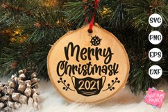 2021 Christmas Ornaments Bundle, Funny Ornament Sayings Svg Product Image 5