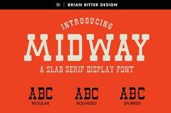 Midway - Slab Serif Font Product Image 1