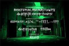 Web Font Miklaus - Body & Scary Font Product Image 3