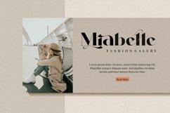 Milans_Typeface Modern Serif Product Image 2