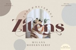 Milans_Typeface Modern Serif Product Image 6
