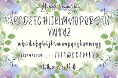 Web Font Milepost - Beautiful Handwritten Font Product Image 5