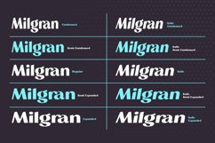 Milgran Sans Serif Font Family Product Image 3