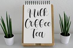 Milkshake - Sweet Calligraphy Font Product Image 3
