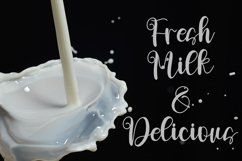 Milkshake - Sweet Calligraphy Font Product Image 2