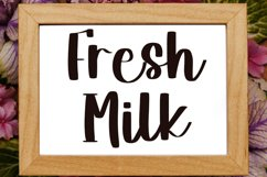 Milky White - A Beautiful Handwritten Font Product Image 2