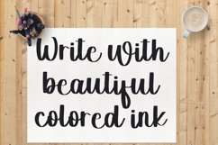 Milky White - A Beautiful Handwritten Font Product Image 5