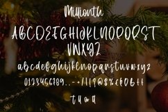 Web Font Millionth - Christmas Display Font Product Image 6