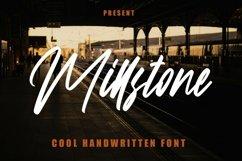 Web Font Millstone - Cool Handwritten Font Product Image 1