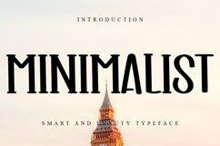 Minimalist Smart & Luxury Typeface Product Image 1