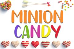 Minion Candy - Lovely Handwritten Font Product Image 1