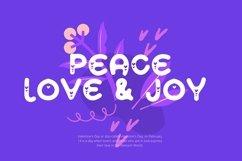 Web Font Minlove - Valentines Font Product Image 2