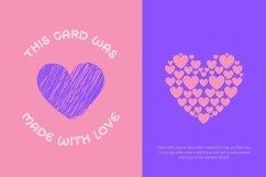 Web Font Minlove - Valentines Font Product Image 3