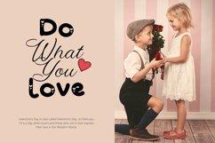 Web Font Minlove - Valentines Font Product Image 4