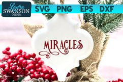 Miracles SVG Cut File | Christmas SVG Cut File Product Image 1