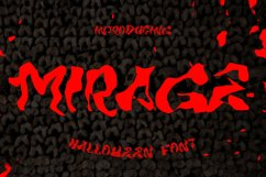 MIRAGE - Halloween Horror Font Product Image 1