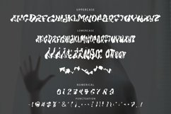 MIRAGE - Halloween Horror Font Product Image 6