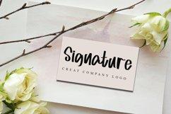 Misgine - Romantic Signature Font Product Image 5