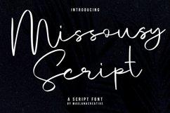 Missousy Handwritten Script Font Product Image 1