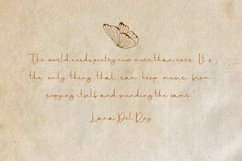 Missousy Handwritten Script Font Product Image 2