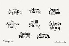 Missy Voya - Modern font family Product Image 5