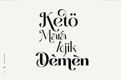 Missy Voya - Modern font family Product Image 4