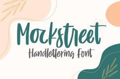 Mockstreet - Handlettering Font Product Image 1