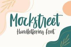 Web Font Mockstreet - Handlettering Font Product Image 1