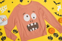 Halloween Faces svg - Kids Halloween Shirt svg png dxf Product Image 3
