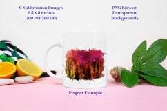 Sublimation PNG Designs - Forest of Stars Images - Set 2 Product Image 2
