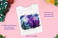 Sublimation PNG Designs - Forest of Stars Images - Set 2 Product Image 3