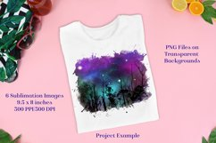 Sublimation PNG Designs - Forest of Stars Images - Set 3 Product Image 3
