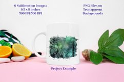 Sublimation PNG Designs - Forest of Stars Images - Set 1 Product Image 3