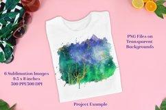 Sublimation PNG Designs - Golden Celestial Forest Product Image 3