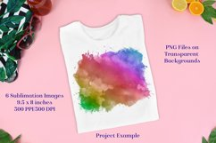 Sublimation PNG Designs - Rainbow Painted and Patterned Product Image 3
