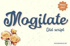 Web Font Mogilate Font Product Image 1