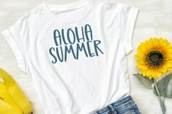 Web Font Mojito Night - A Quirky Handlettered Font Product Image 4