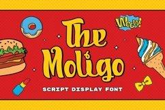 Web Font Moligo - Signature Script Font Product Image 1