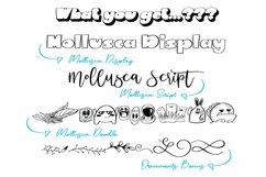 Mollusca Font Trio   Doodle Font Product Image 4