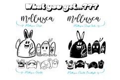 Mollusca Font Trio   Doodle Font Product Image 6