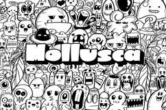 Mollusca Font Trio   Doodle Font Product Image 1