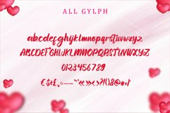 Momentum Valentine - a sweet lovely handwritten font Product Image 6