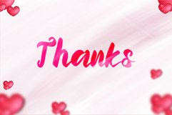 Momentum Valentine - a sweet lovely handwritten font Product Image 3