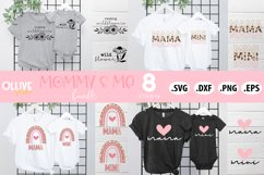 Mommy & Me Bundle SVG | Mama and Mini SVG Product Image 1