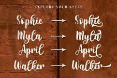 Monatessa - Modern Calligraphy font Product Image 5