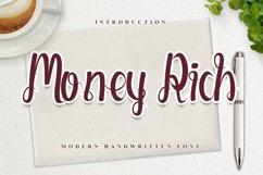 Money Rich - Modern Handwritten Font Product Image 1