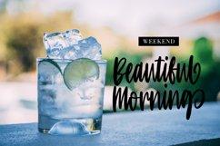 Monjitto - Handrawn Script Font Product Image 5