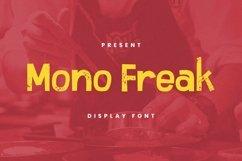 Web Font Mono Freak Font Product Image 1