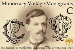 Monocracy Vintage Monograms Pack ABCDEFG Product Image 3