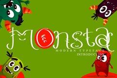 Monsta - Cute Display Font Product Image 1